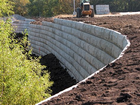 retaining concrete wall retaining walls national precast concrete association
