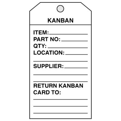 kanban card template kanban cards from seton stock items ship today custom ships fast seton