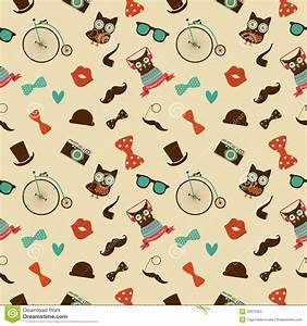 Hipster Colorful Seamless Pattern Stock Photography ...