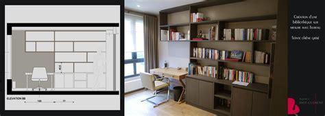 bibliothèque bureau intégré bibliotheque et bureau intégré portfolio tags agence