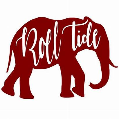 Tide Roll Elephant Alabama D562 Grad Nite