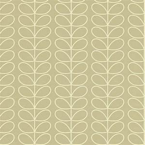 Linear Stem Wallpaper - Stone (110397) - Harlequin Orla