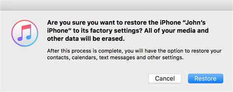 how to return iphone to factory settings restore your iphone or ipod to factory settings