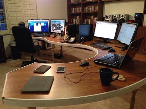 Diy Computer Desk Lots From Rbattlestations Asked For