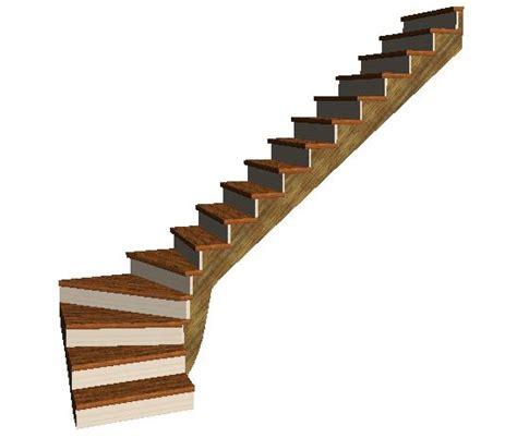 fabriquer escalier quart tournant