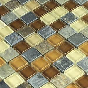 Mosaik Fliesen Beige : naturstein glas mosaik fliese beige ht88437m ~ Michelbontemps.com Haus und Dekorationen