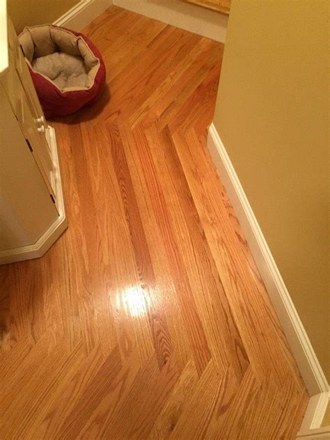 Wood direction change in hallway   Wood Floors   Pinterest
