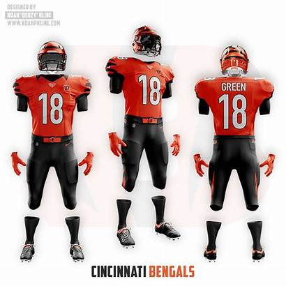 Bengals Uniforms Concept Cincinnati Jersey Clean Updated