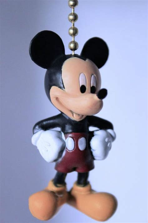 Mickey Mouse Ceiling Fan Pulls by Mickey Mouse Minnie Club Disney Novelty Collectible Home