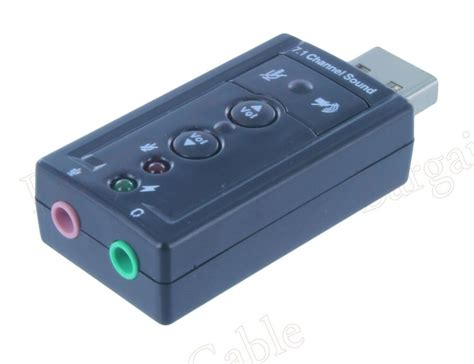 usb external 7 1 channel 3d virtual audio sound card adapter pc buy 2 get 1 free ebay