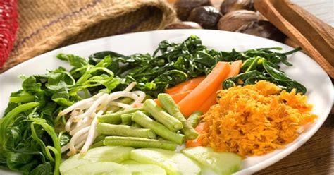 resep urap sayuran  makan malam okezone lifestyle