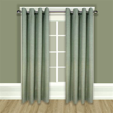 Curtain Panels by Grasscloth Lined Grommet Top Curtain Panels