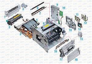 Parts Diagram For Laserjet 4300