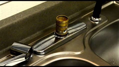 Disassemble Moen Kitchen Faucet Cartridge