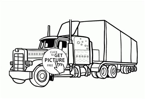 horse trailer coloring pages bubakidscom