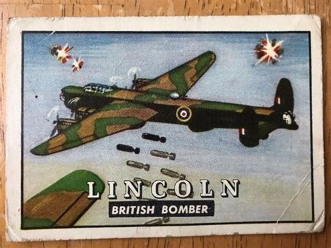Maybe you would like to learn more about one of these? 1950s Topps Friend or Foe Wings British Bomber Plane #4 ...