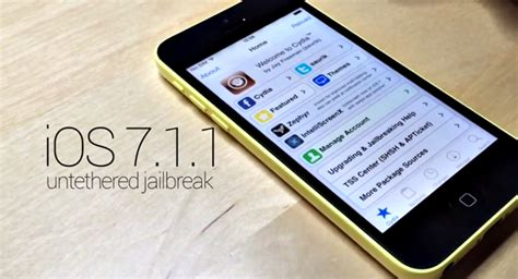 how to jailbreak an iphone 5c jailbreak for ios 7 1 1 gets cyberelevat0r untethered