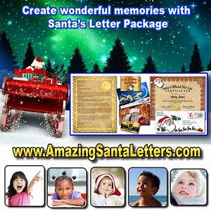 19 best images about amazing santa letters on pinterest With amazing santa letters