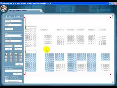Omr Full Form In Hindi by Omr Sheet Reader Software Scanner Demo Video Doovi