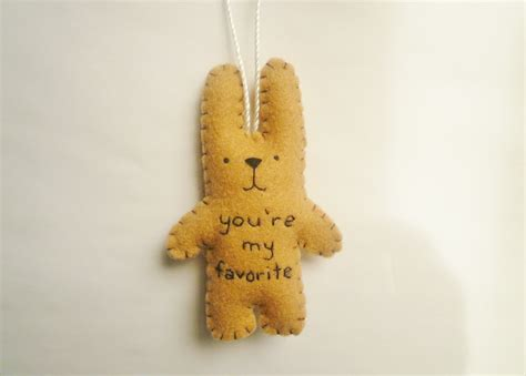 funny christmas ornaments felt animal ornament decoration