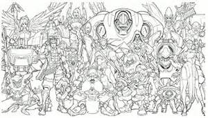 Overwatch Drawings Characters
