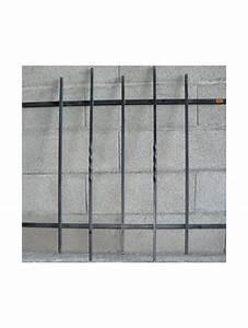 Grille De Defense Pour Fenetre : grille de defense droite pour fenetre hauteur 80 x largeur ~ Dailycaller-alerts.com Idées de Décoration