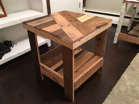 diy wood end table diy outdoor end table