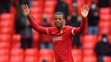 Georginio Wijnaldum confirms he is leaving Liverpool