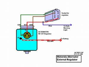 Mercruiser Motorola Alternator Wiring Diagram