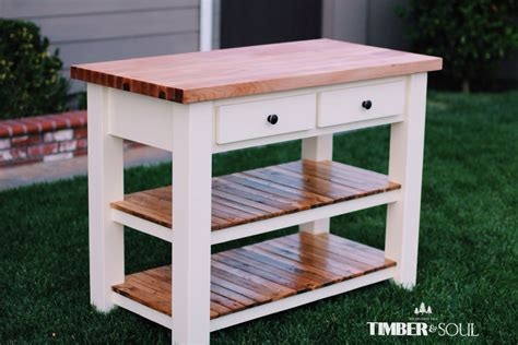 ana white butcher block kitchen island diy projects