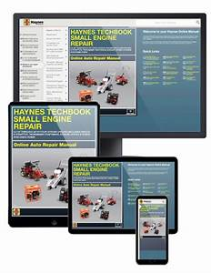 Small Engine Service Manual  Online   5 5 Hp Through 20 Hp
