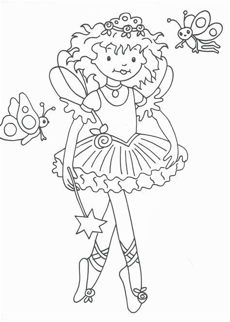 disegni da colorare principesse  ballerine