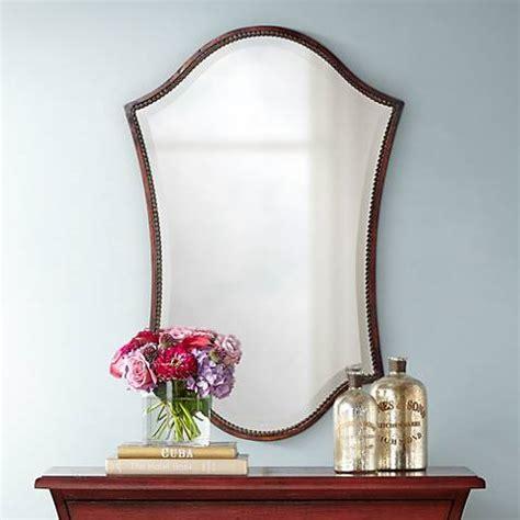uttermost abra bronze finish  high wall mirror