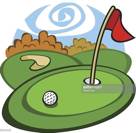 Golf Clip Golf Course Vector Getty Images