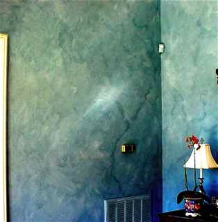 color washing walls color wash
