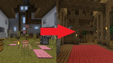 easy steps  improve  minecraft interior youtube