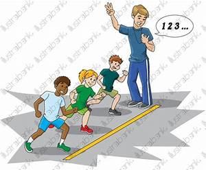 Image D Enfant : course d 39 enfants illustration libre de droit sur ~ Dallasstarsshop.com Idées de Décoration
