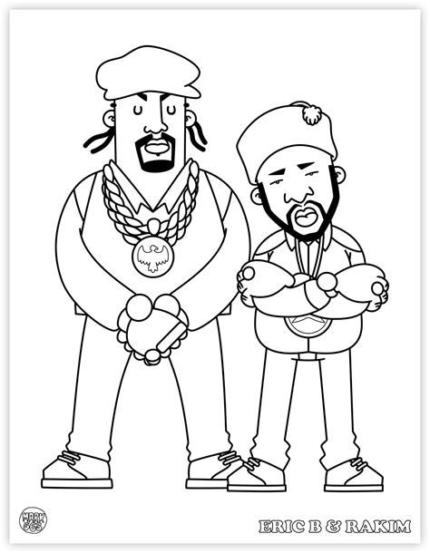Hip Hop Graffiti Kleurplaat by Hip Hop Coloring Book