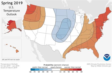 U.s. Flood And Climate Outlook For Spring 2019