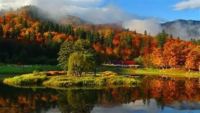 Autumn Mountain Wallpapers Misty Pixelstalk