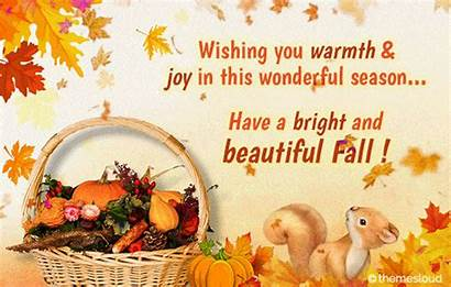 Happy Autumn Bright Fall 123greetings Change