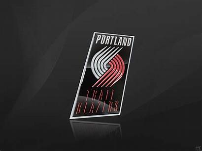 Blazers Portland Trail Trailblazers 3d Wallpapers Basketball