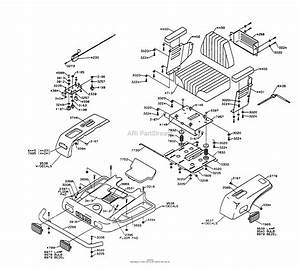 Dixon Ztr 4423  1997  Parts Diagram For Body Assembly