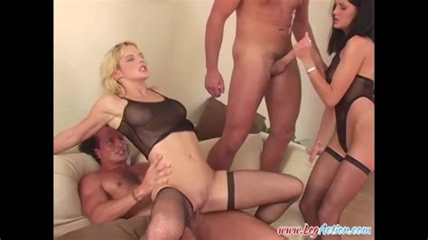 Leg Action Horny Slut Barbara Summer And Her Sexy Friends Enjoying Rough Group Sex Porndoe