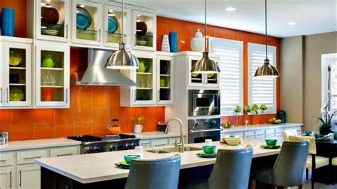 orange kitchen color scheme orange kitchen color trend 3762