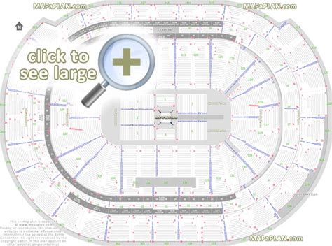 bbt center seat row numbers detailed seating chart sunrise mapaplancom