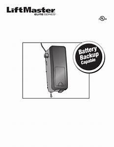 Liftmaster 8500 Owner U0026 39 S Manual