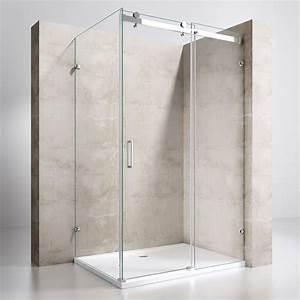 Duschkabine Mit Duschtasse : duschkabine dusche duschabtrennung kabine schiebet r glas duschtasse nano esg ebay ~ Frokenaadalensverden.com Haus und Dekorationen