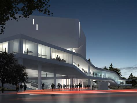 Sofa Furniture Melbourne by Mashouf Performing Arts Center By Michael Maltzan Architecture
