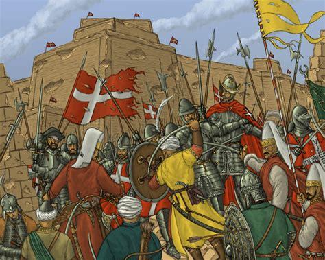 pouf siege siege of malta 17th century war malta